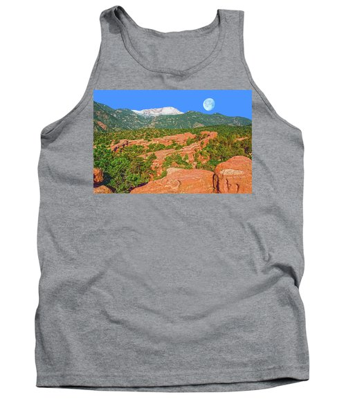 The World Is Not Comprehensible, But It Is Embraceable, Wrote The German Philosopher, Martin Buber.  Tank Top by Bijan Pirnia