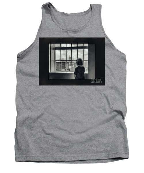 The World Outside My Window Number II  Tank Top by Laurinda Bowling