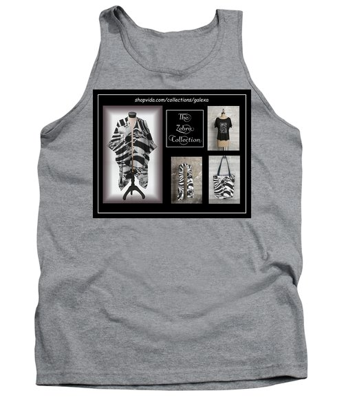 The Zebra Collection Tank Top