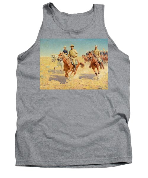 Theodore Roosevelt And The Rough Riders Tank Top