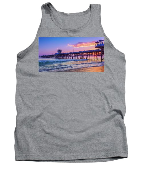 There Will Be Another One - San Clemente Pier Sunset Tank Top