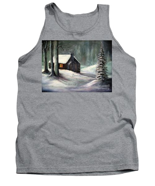 Thinking Warm Thoughts Of You Tank Top by Hazel Holland
