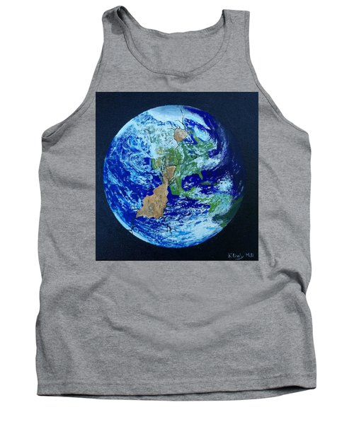 Tank Top featuring the painting Thinner Than An Eggshell by Kevin Daly