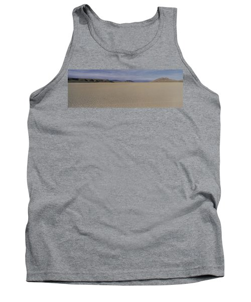 This Is A Dry Lake Pattern Tank Top by Panoramic Images