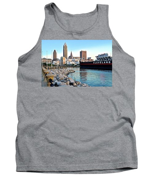 This Is Cleveland Tank Top by Frozen in Time Fine Art Photography