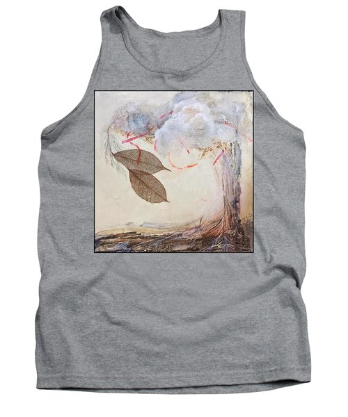 Tank Top featuring the mixed media This Time He Said I Love You In Such A Different Way  by Delona Seserman