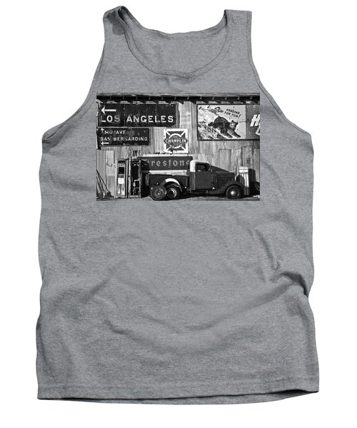 This Way To L.a. Tank Top by Marius Sipa