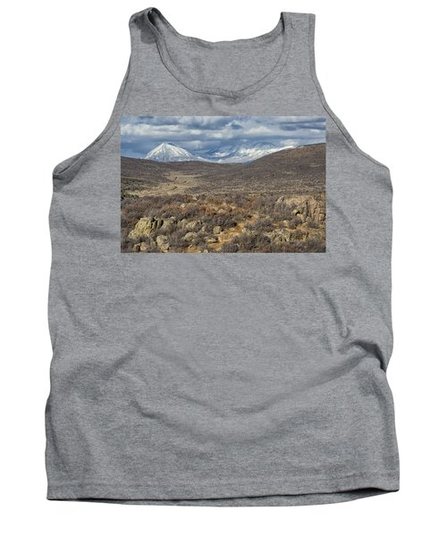 This Way To The Mountains Tank Top