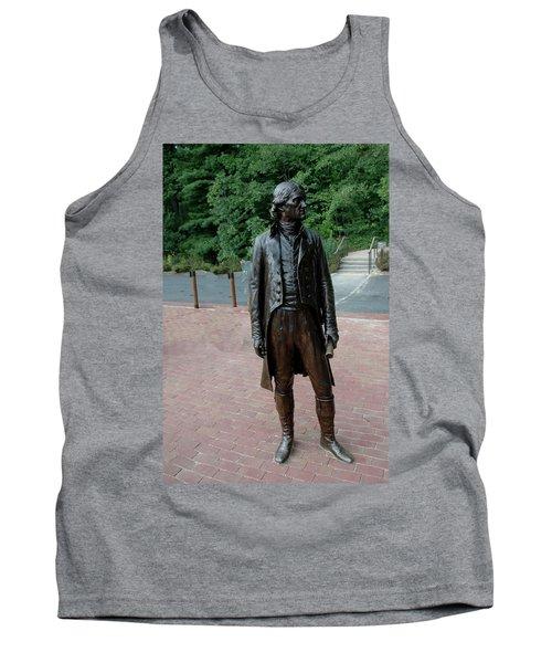 Thomas Jefferson At Monticello Tank Top
