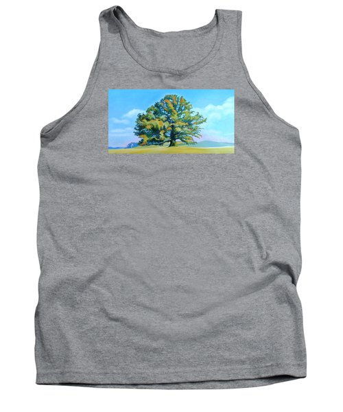 Thomas Jefferson's White Oak Tree On The Way To James Madison's For Afternoon Tea Tank Top by Catherine Twomey