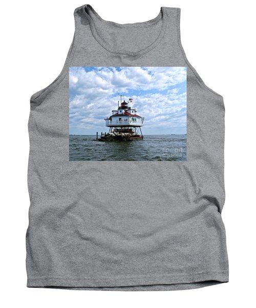 Thomas Point Lighthouse Tank Top