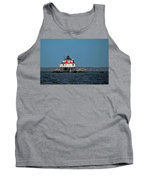 Thomas Point Shoal Light Tank Top