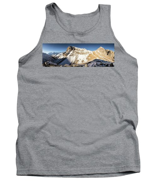 Thorung La Pass In The Annapurna Range In The Himalayas In Nepal Tank Top