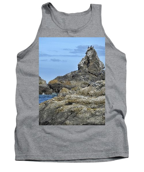 Tank Top featuring the photograph Three Little Birds by Peggy Hughes