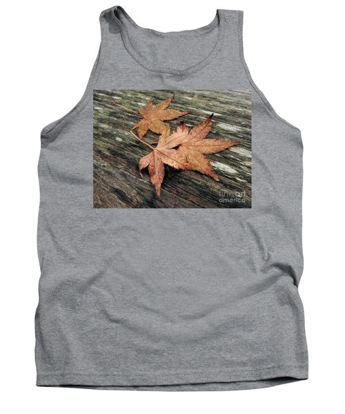 Tank Top featuring the photograph Three by Peggy Hughes