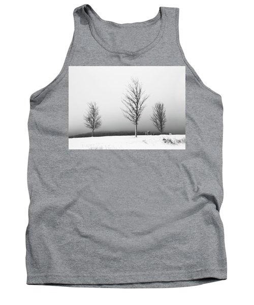 Three Trees In Winter Tank Top by Brooke T Ryan