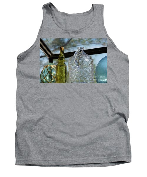 Thru The Looking Glass 2 Tank Top by Megan Cohen