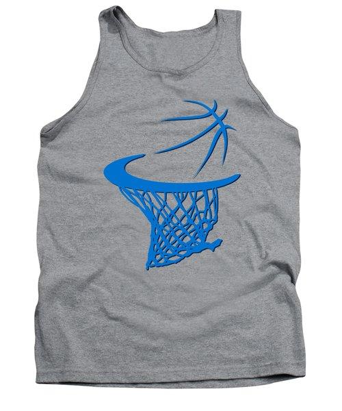 Thunder Basketball Hoop Tank Top