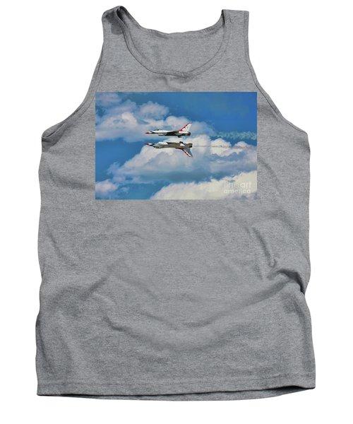 Thunderbirds Inverted Tank Top