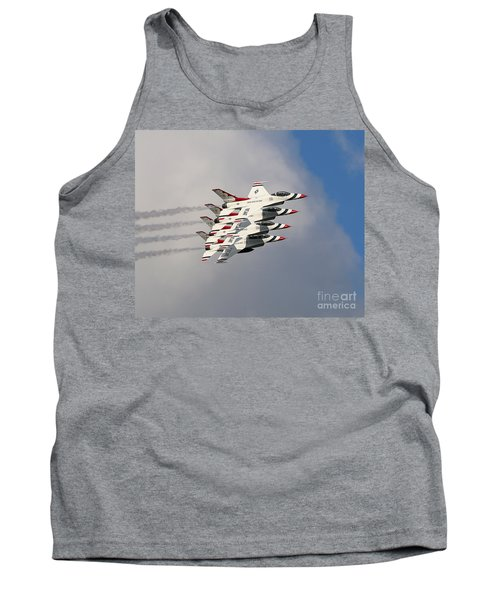 Thunderbirds Stacked Tank Top