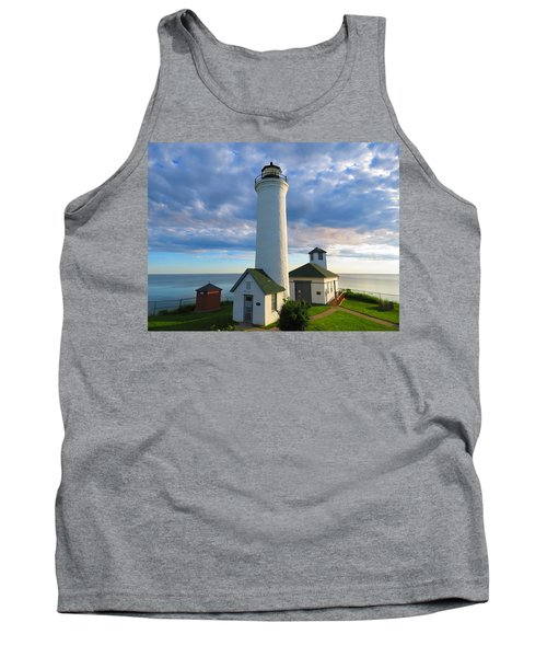 Tibbetts Point Lighthouse In June Tank Top
