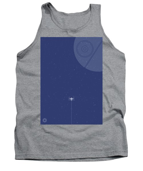 Tie Fighter Defends The Death Star Tank Top
