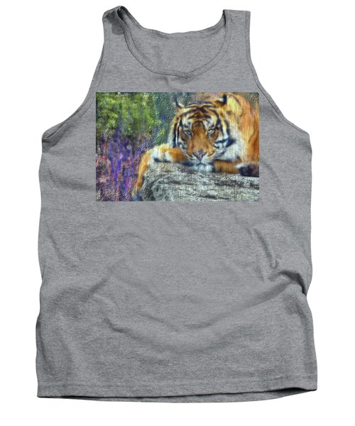 Tigerland Tank Top by Michael Cleere