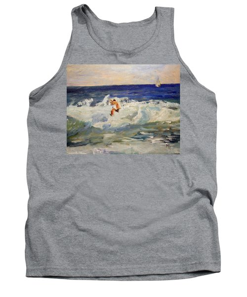 Tightrope Walking The Waves Tank Top