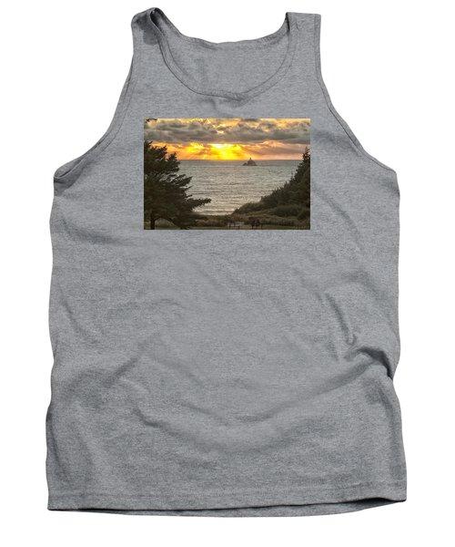 Tillamook Rock Lighthouse 0402 Tank Top