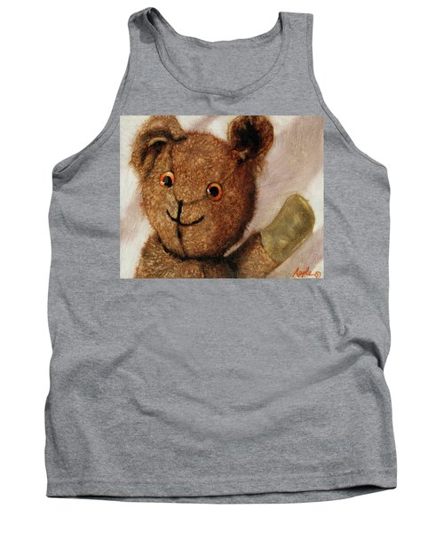 Tillie - Vintage Bear Painting Tank Top