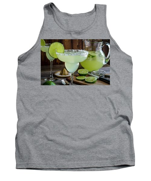 Tank Top featuring the photograph Time For Margaritas by Teri Virbickis
