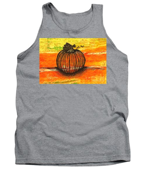 Time To Get Pumkin Tank Top