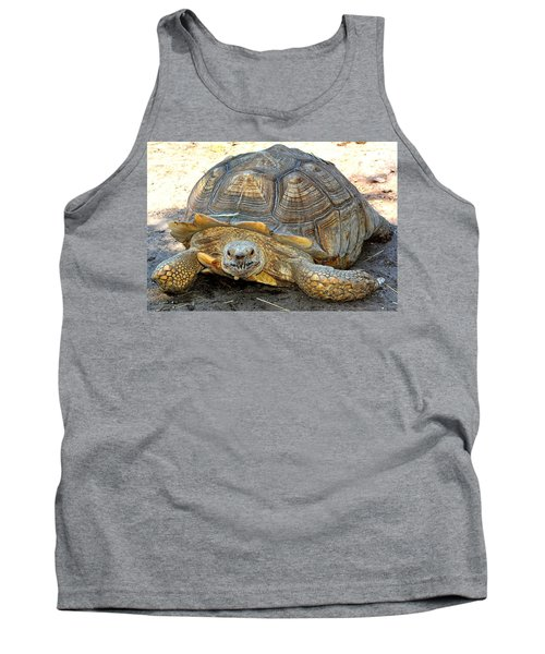 Timothy The Giant Tortoise Tank Top