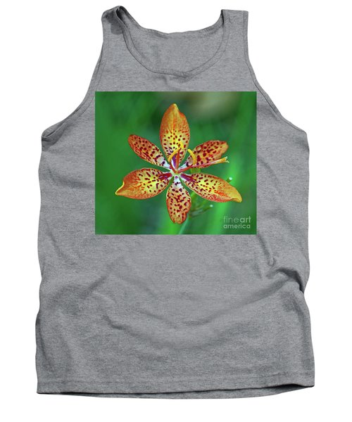 Tiny Tropical Lily Tank Top