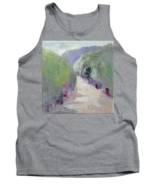 To Mountain Tank Top by Becky Kim