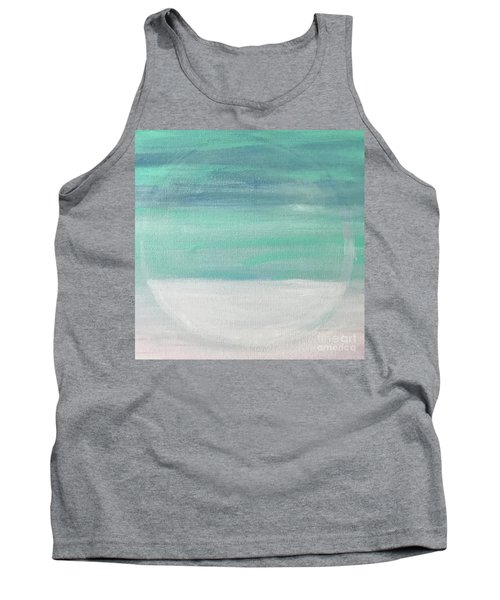 Tank Top featuring the painting To The Moon by Kim Nelson