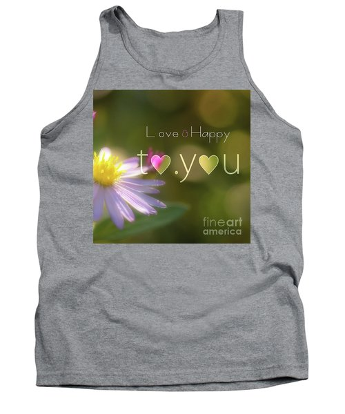 To You #003 Tank Top by Tatsuya Atarashi