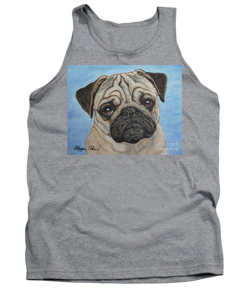 Toby The Pug Tank Top