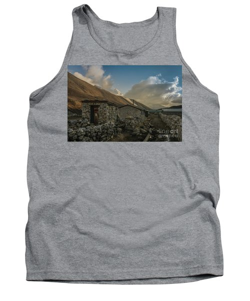 Tank Top featuring the photograph Toilet by Mike Reid
