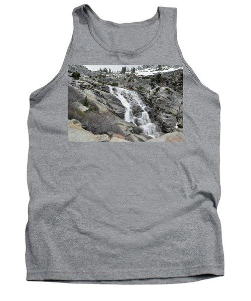 Tank Top featuring the photograph Tokopah Falls by Kyle Hanson