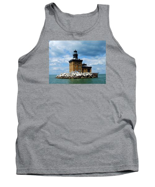 Tank Top featuring the photograph Toledo Harbor Lighthouse by Michiale Schneider