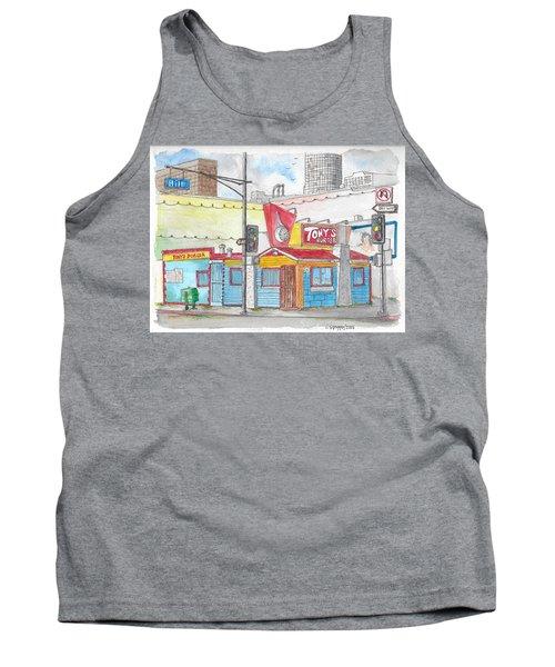 Tony Burger, Downtown Los Angeles, California Tank Top