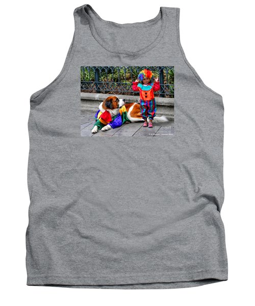Too Cute For Words Tank Top by Al Bourassa
