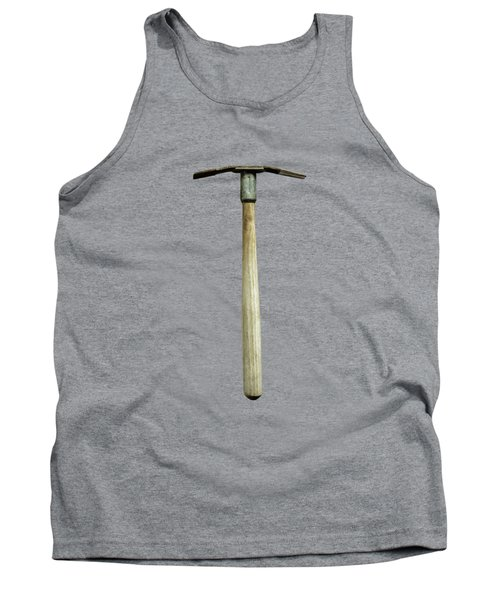 Tools On Wood 16 On Bw Tank Top by YoPedro