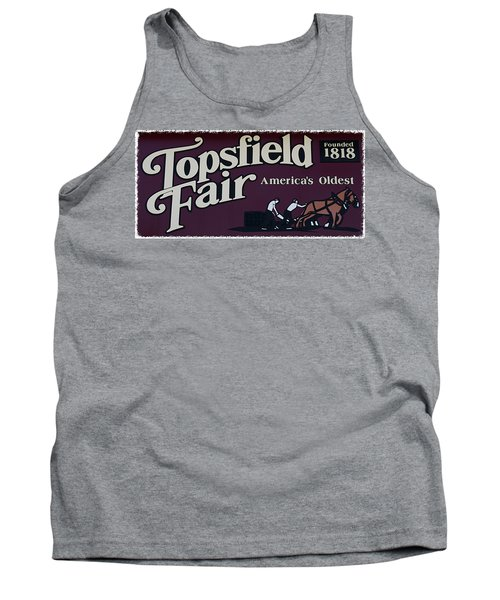 Topsfield Fair 1818 Tank Top