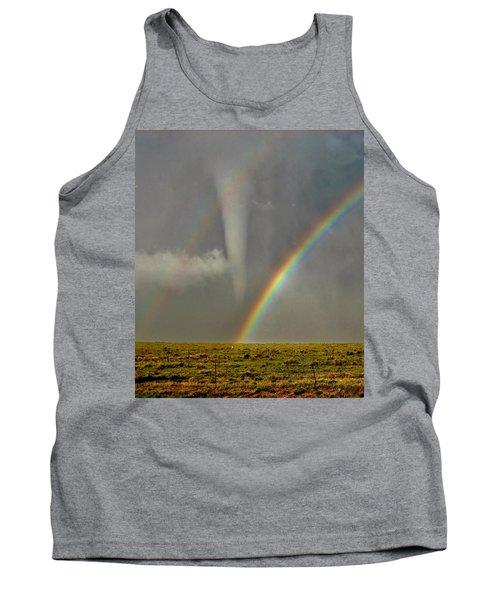 Tornado And The Rainbow II  Tank Top