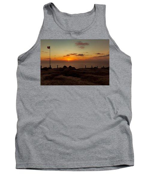 Torrey Pine Glider Port Sunset Tank Top