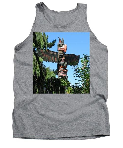 Totem Pole Tank Top by Betty Buller Whitehead