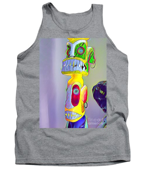 Totemic Mask Tank Top