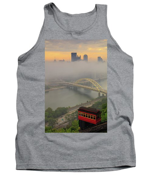 Touch Of Fog  Tank Top